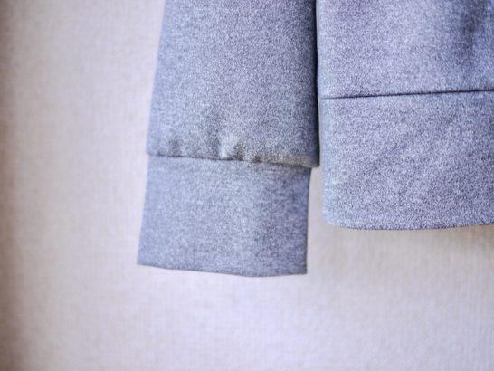 レディースパーカー袖口