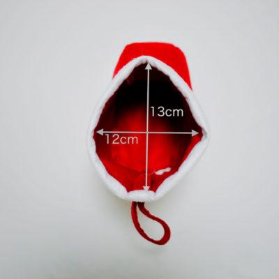 クリスマス靴下のサイズその1
