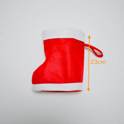 クリスマス靴下のサイズその2