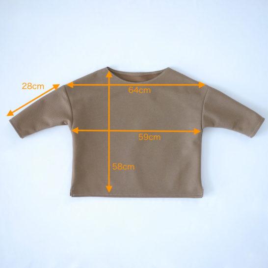 バスクTシャツサイズ
