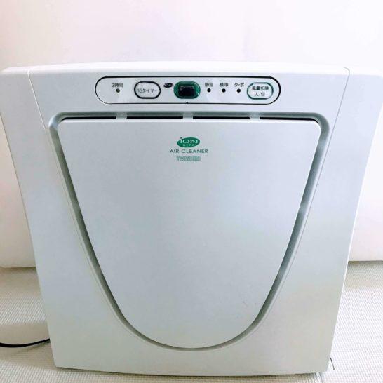 ツインバード空気清浄機