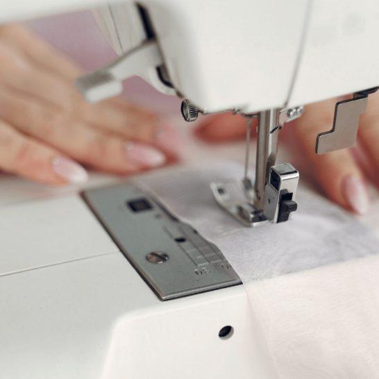 職業用ミシン縫い
